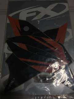 KTM 2012 side panels decals