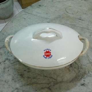 Dumex Porcelain Tureen Casserole Vintage 8