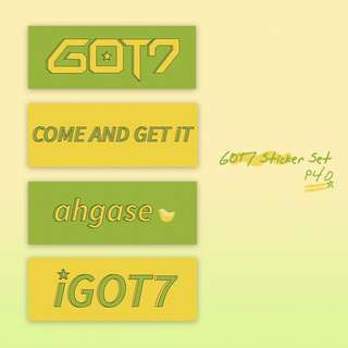 Got7 Sticker Set