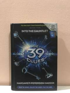 The 39 Clues Book 10 <Into The Gauntlet> By Margaret Peterson Haddix