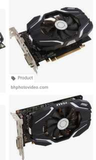 MSI GTX1060 6GB OCV1