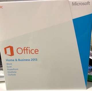 BNIB Microsoft Office Home & Business 2013