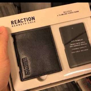 authentic kenneth cole reaction billfold wallet