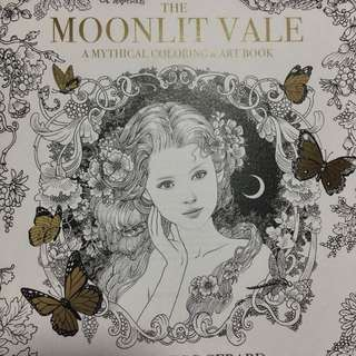 The Moonlit Vale Adult Coloring Book