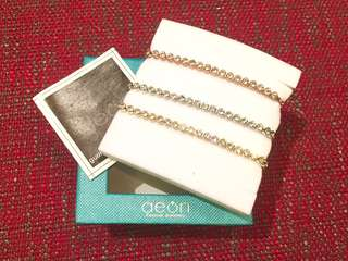 全新Aeon Fashion Jewellery Bracelets Set of Three
