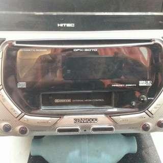 radio kereta kenwood kaset dan vcd