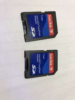 SD card adapter