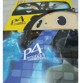 Persona 4 The Animation Clear Files