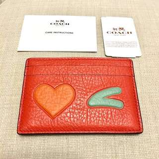 💝Coach Card Holder New Authentic BNWT