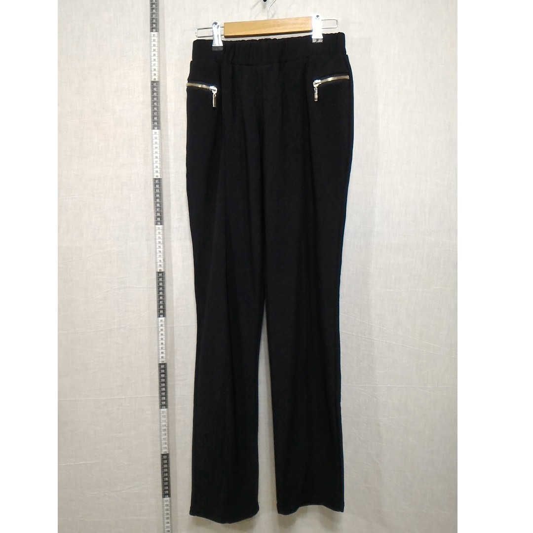 31118133-Black Stretch Pants黑色彈性長褲