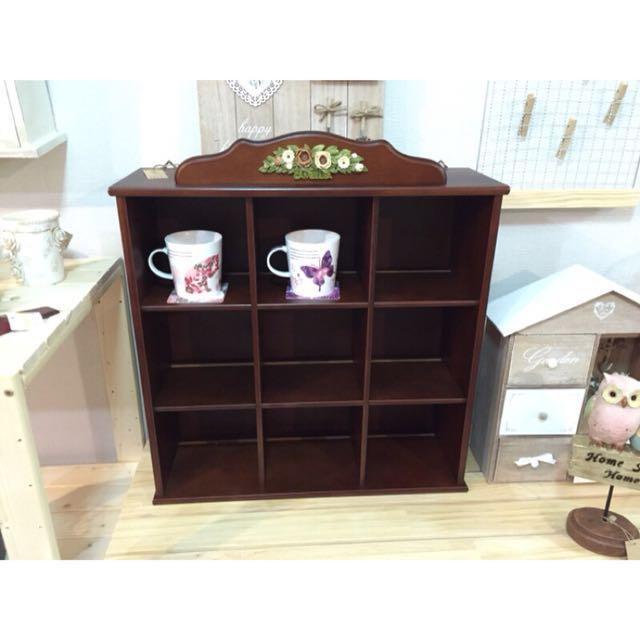 9宮格壁櫥 咖啡架 壁櫃 免運宅配