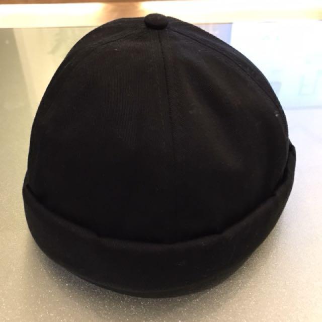 水滴帽 黑色 硬挺質感佳