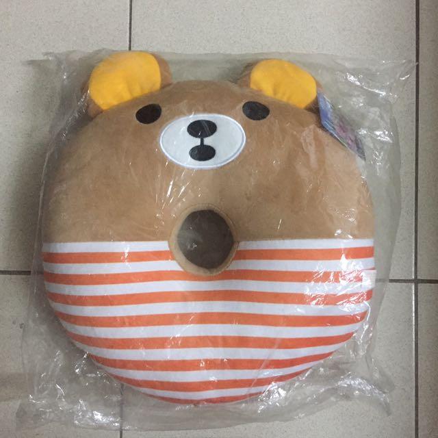 拉拉熊 抱枕 坐墊