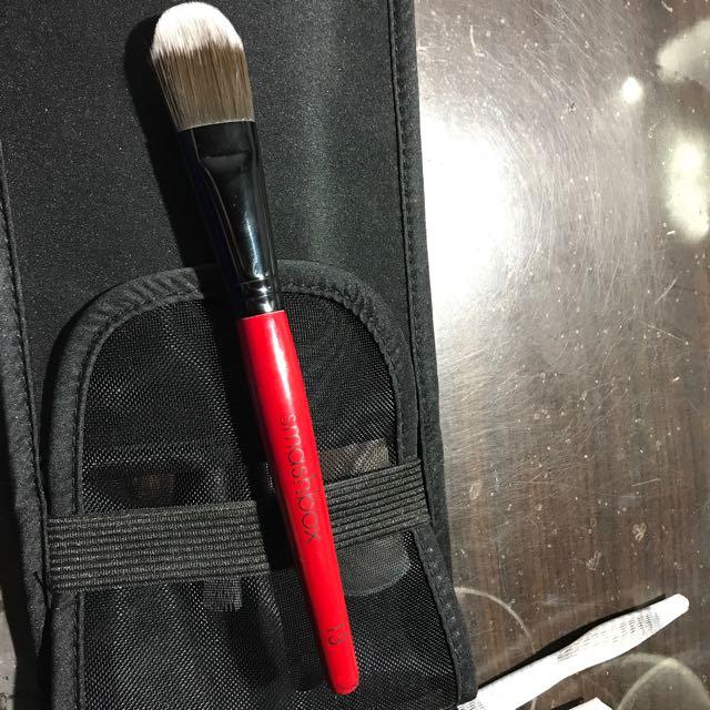 二手 英國 smashbox 粉底刷 13號 foundation brush