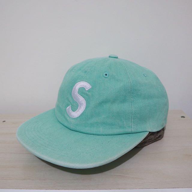 正品 supreme 五分割帽