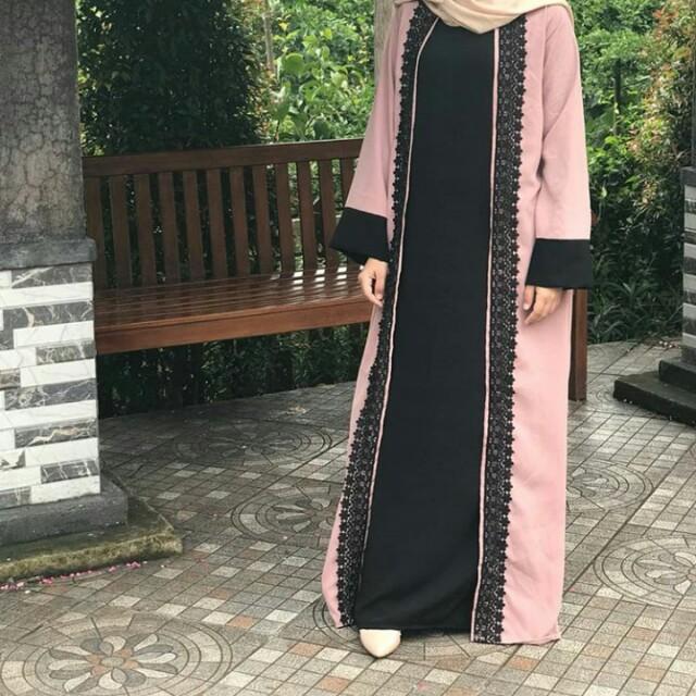 Abaya gamis dress set
