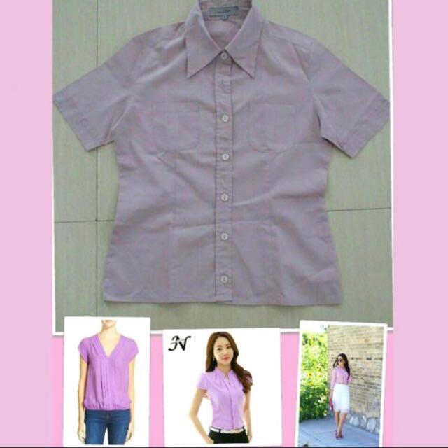 Accent Purple Shirt