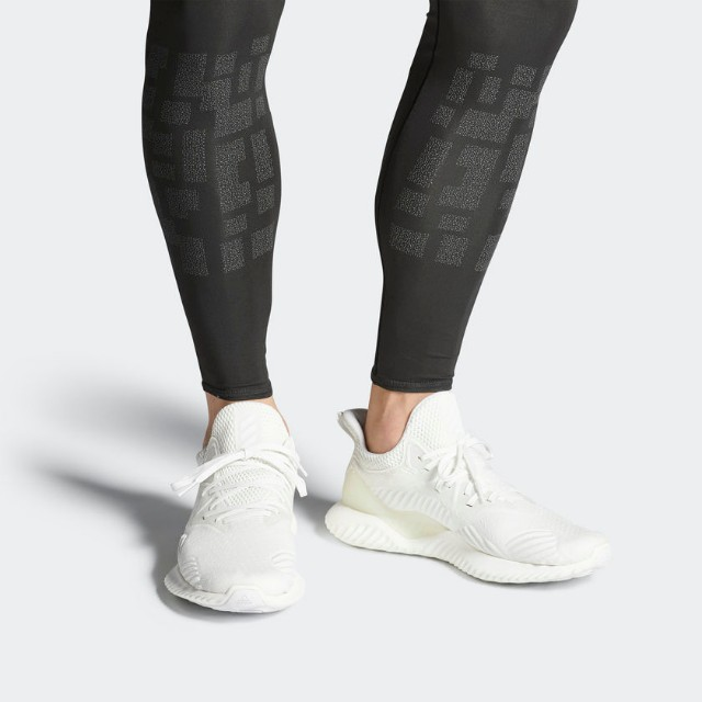 classic fit afab8 b4197 ADIDAS ALPHABOUNCE BEYOND (CORE BLACK NON DYED RUNNING WHITE), Men s ...