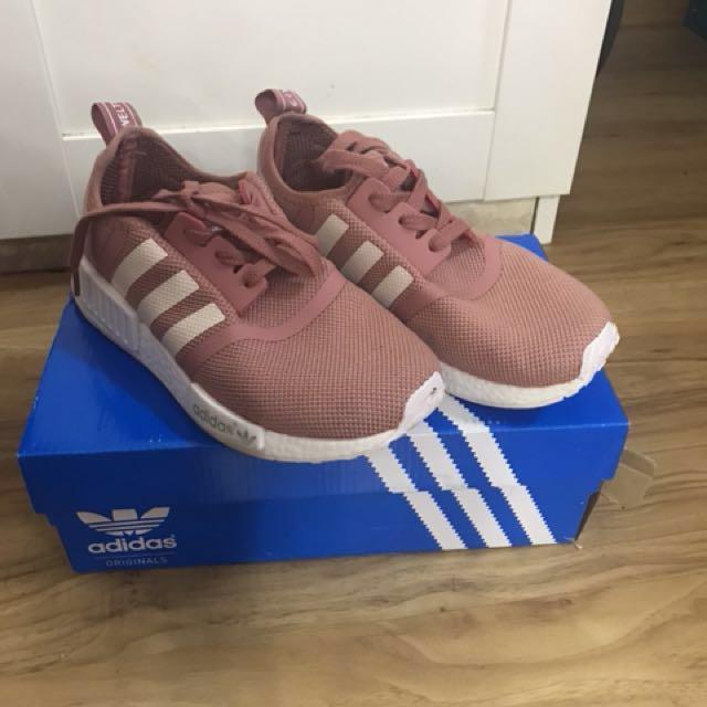 Adidas NMD Runner Pink Premium Copy Ori free poslaju
