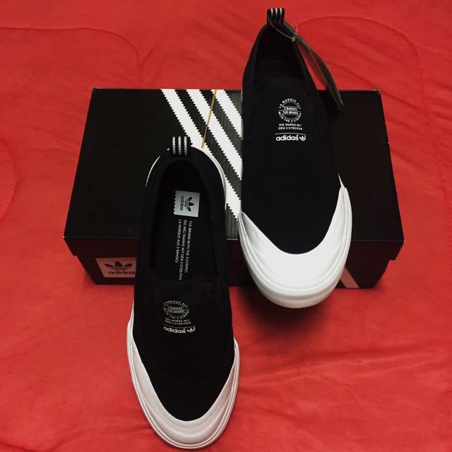Adidas Originali Su Degli Uomini Matchcourt Scivolare Su Originali Pattini Scarpa, Lo Skateboarding feff23
