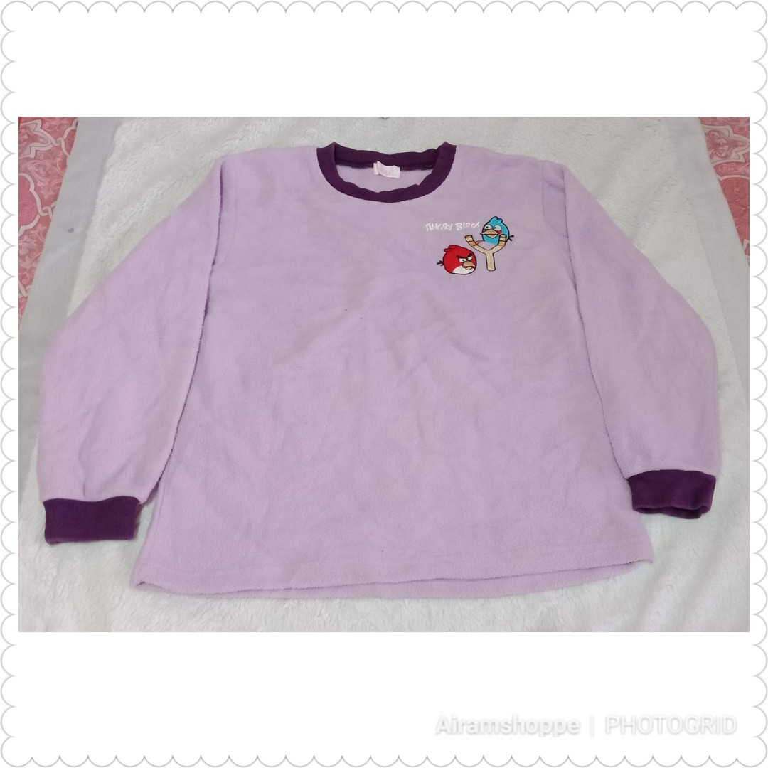 Angry Bird Sweat Shirt (size 6-7)
