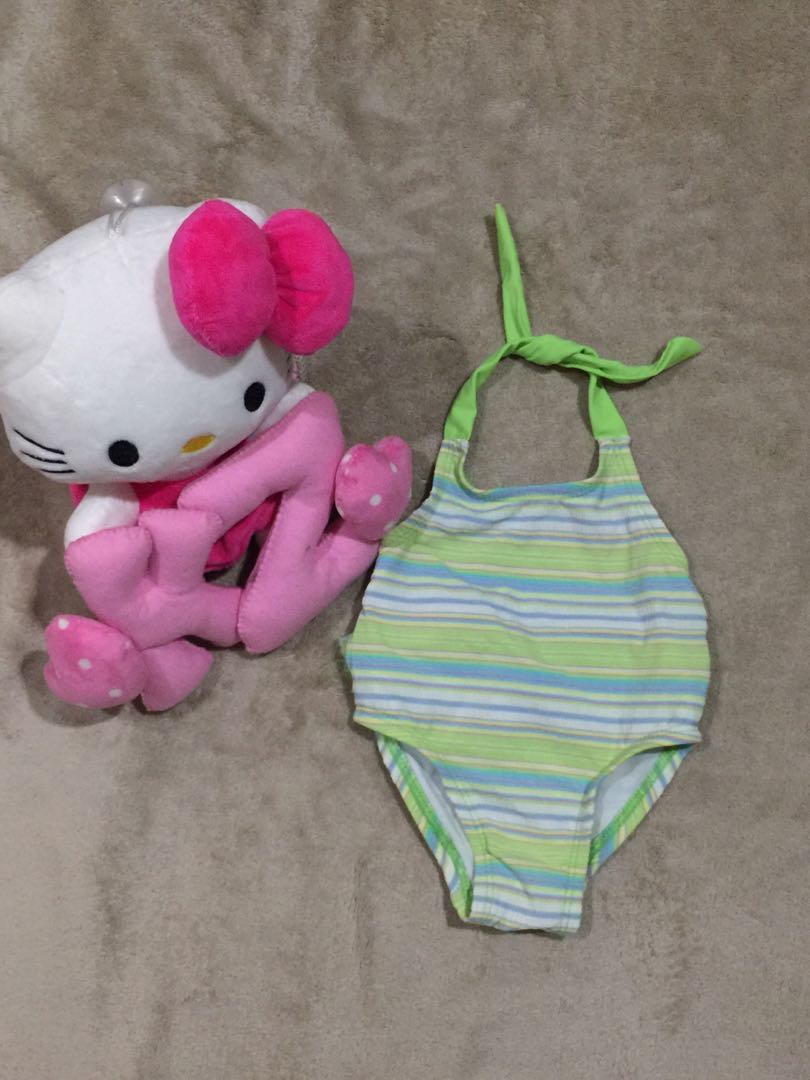 baby backless 1pc swimsuit 3-6m