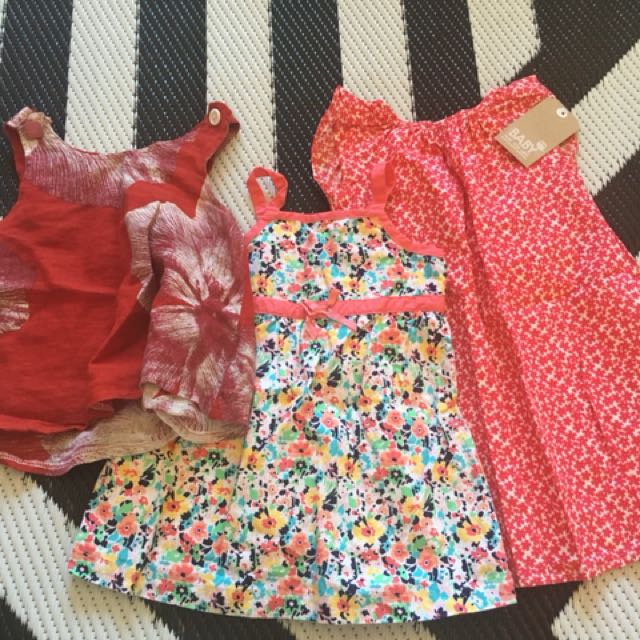 Baby Girl dresses Bundle Size 18months
