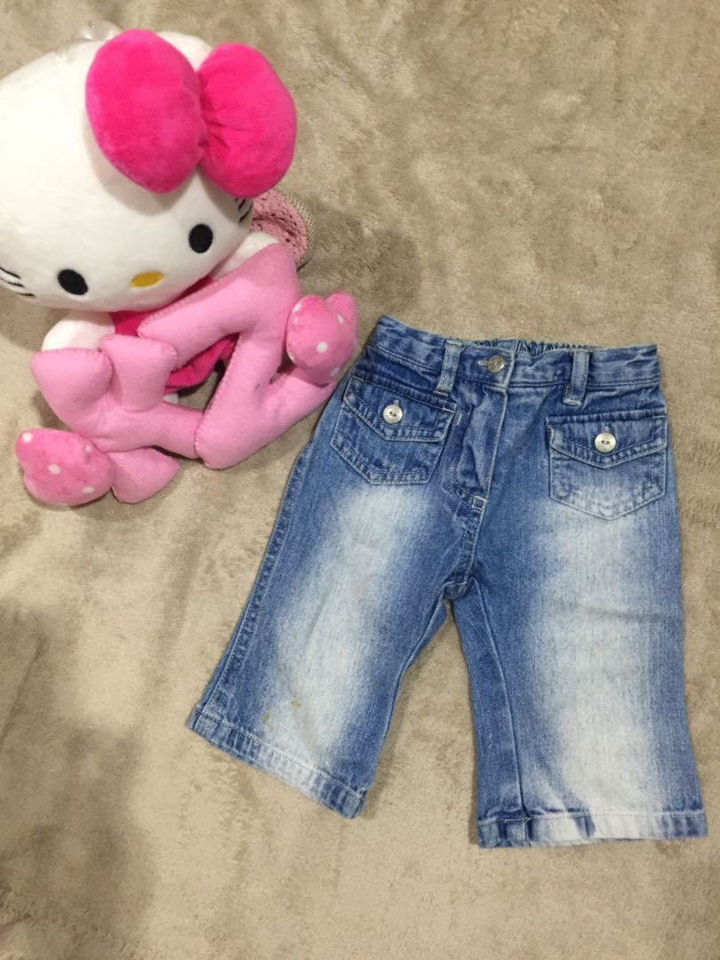 baby maong pants