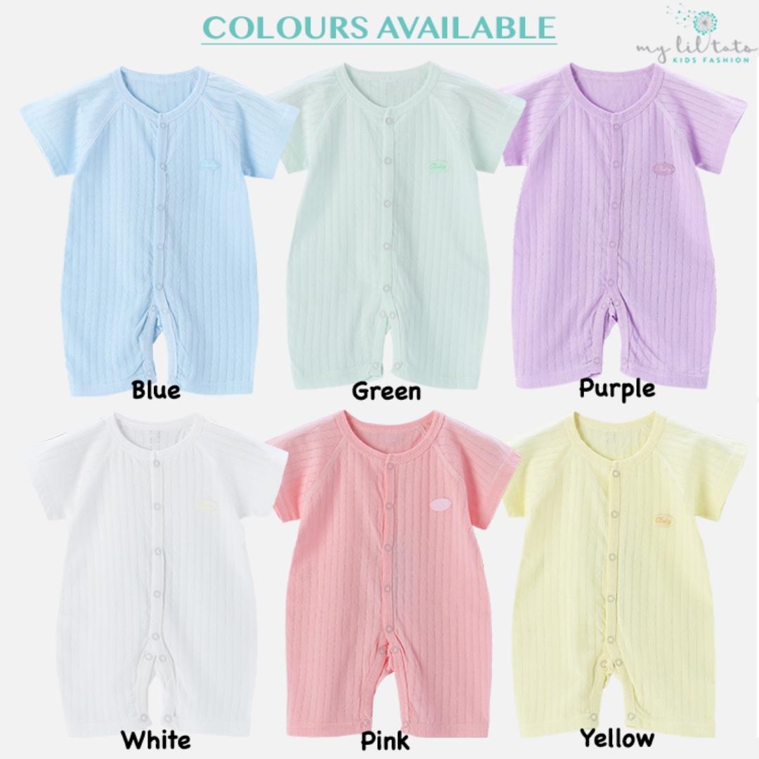 2af050408d68 Baby Toddler Kids Children Romper Cotton Bodysuit Home Wear Premium Quality  Clothing