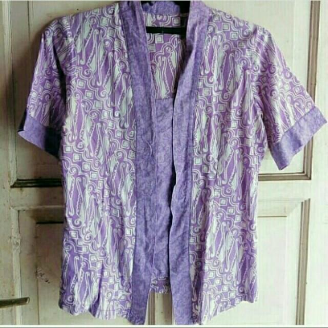 Batik Purple Kutu Baru