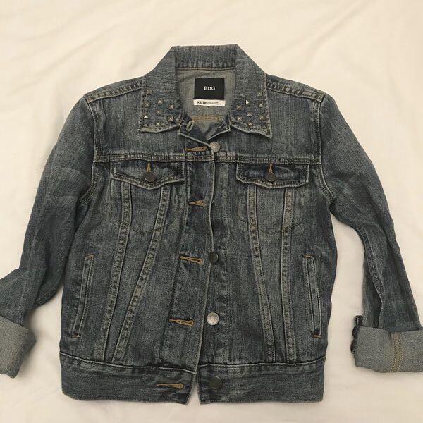 BDG Studded Denim Jacket