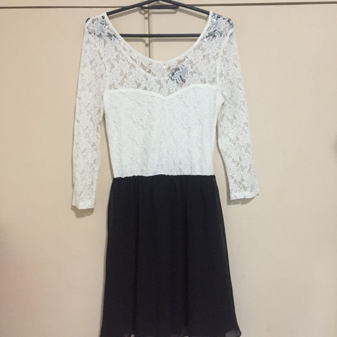 Bershka lace dress