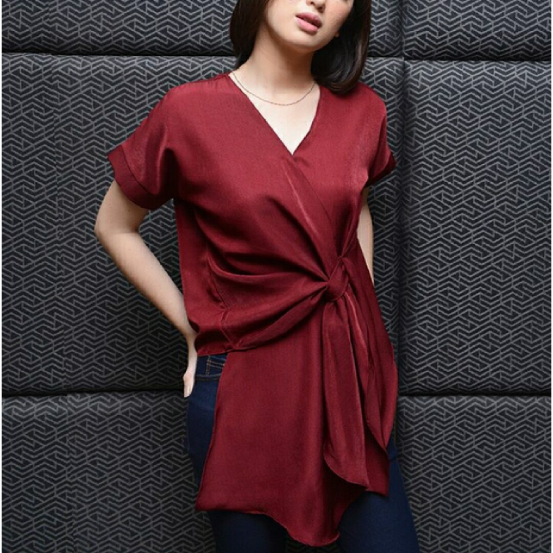 Blouse Hits (maroon,navy,white & black)