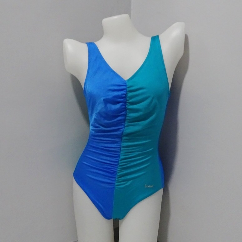 Blue&Green 1pc Swimsuit (S010)
