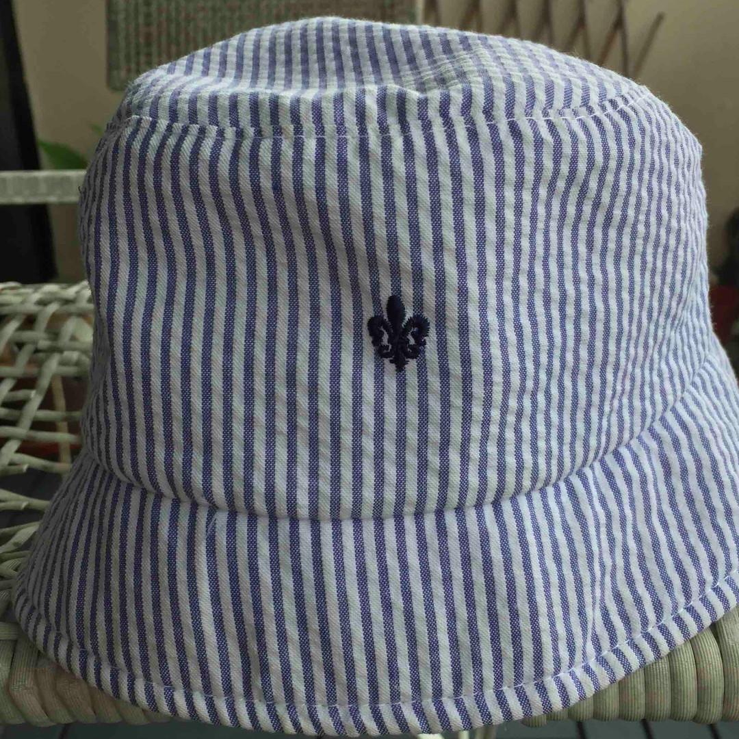 689c01ec23c Brooks Brothers Seersucker Bucket Hat (Original) Ladies