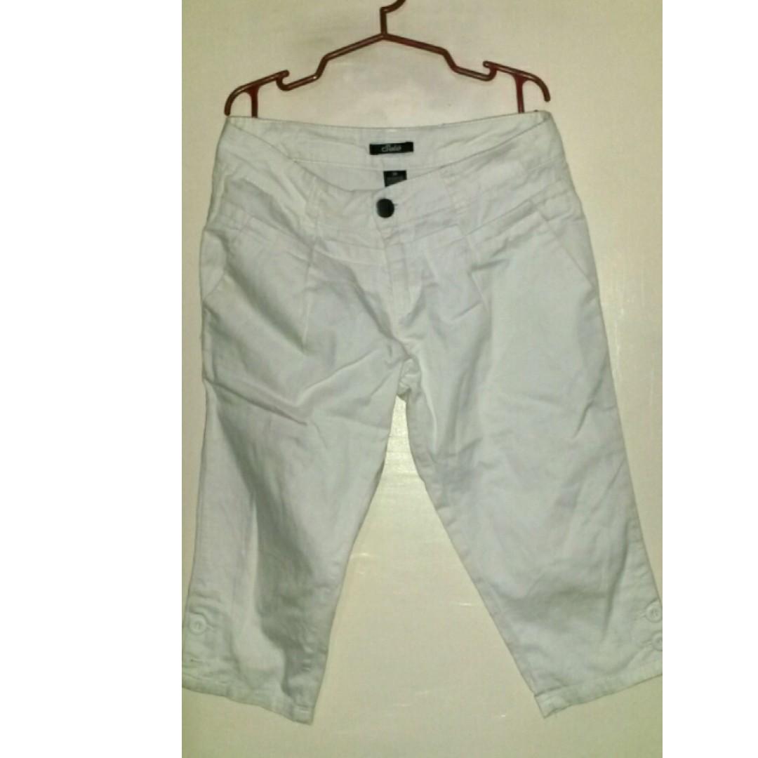 white short size 29