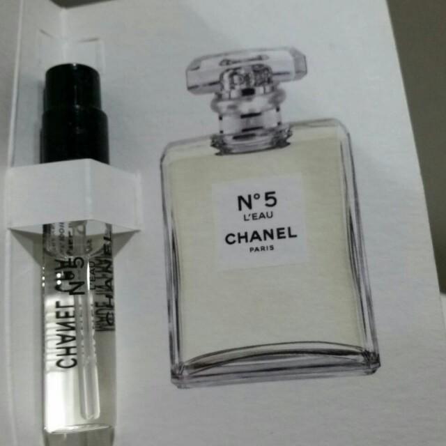 CHANEL N5 清新晨霧淡香水 試用噴瓶