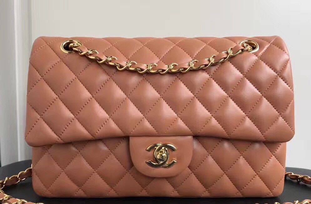 804ce8b49e62 Chanel Sheepskin Classic Flap Bag Caramel with Gold Hardware, Women's  Fashion, Bags & Wallets on Carousell