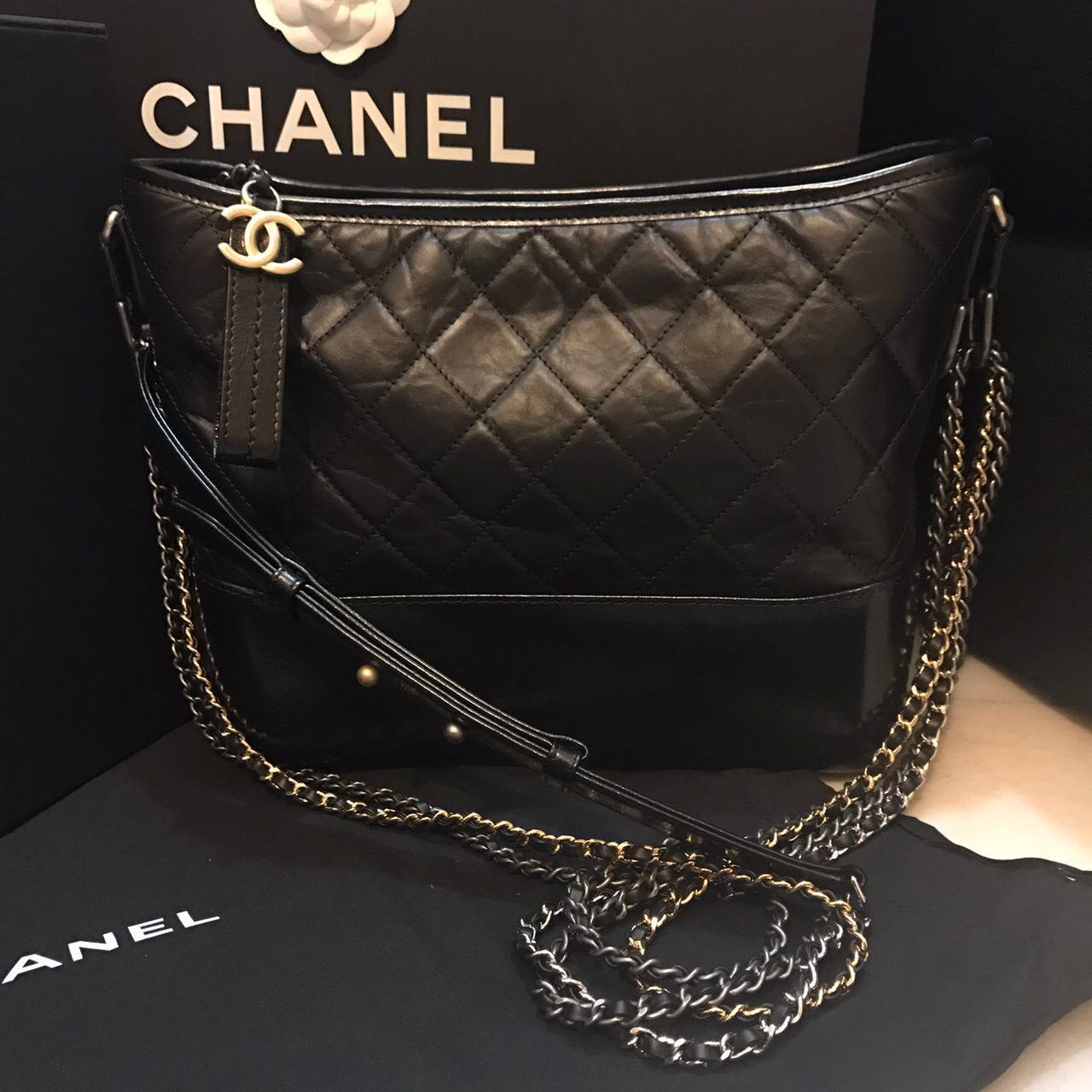 a96b18828ad Chanel Sling Bag, Luxury, Bags & Wallets on Carousell