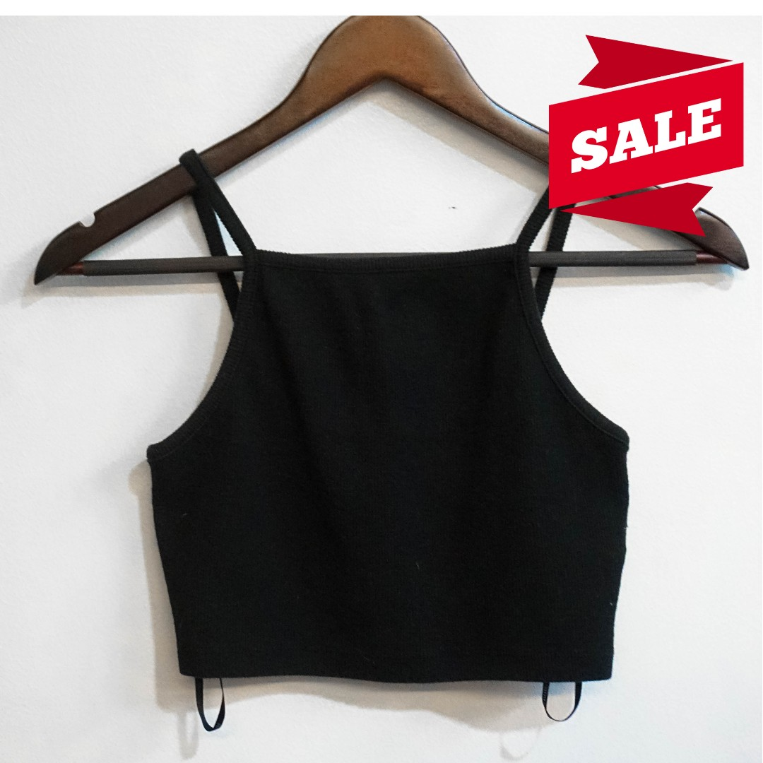 CLEARANCE SALE | forever 21 | ribbed top in black