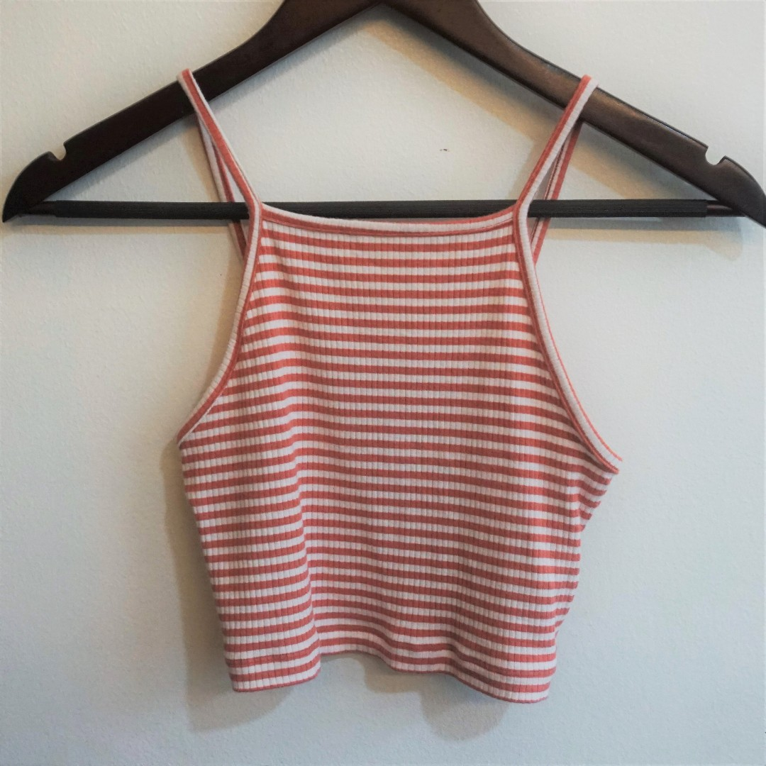 CLEARANCE SALE | forever 21 | ribbed top in dusty rose