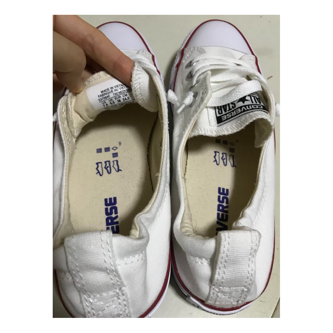 2f88ab0be56f Converse Chuck Taylor All Star Shoreline White Lace-Up Sneaker ...