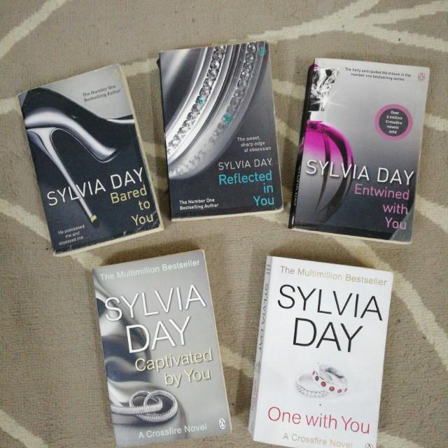 sylvia day books crossfire series