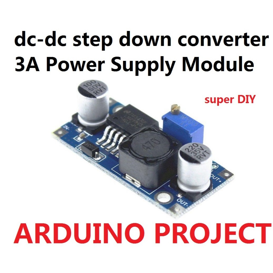 Dc Step Down Converter Power Supply Module 3a Electronics To Circuit Others On Carousell