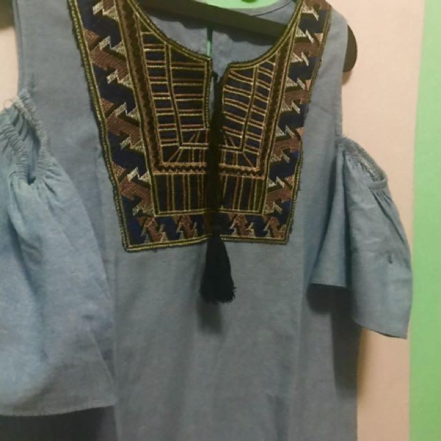 Dress Denim ~ Big Size
