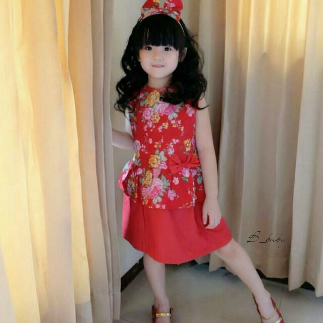 Dress Peplum Anak | Dress Anak