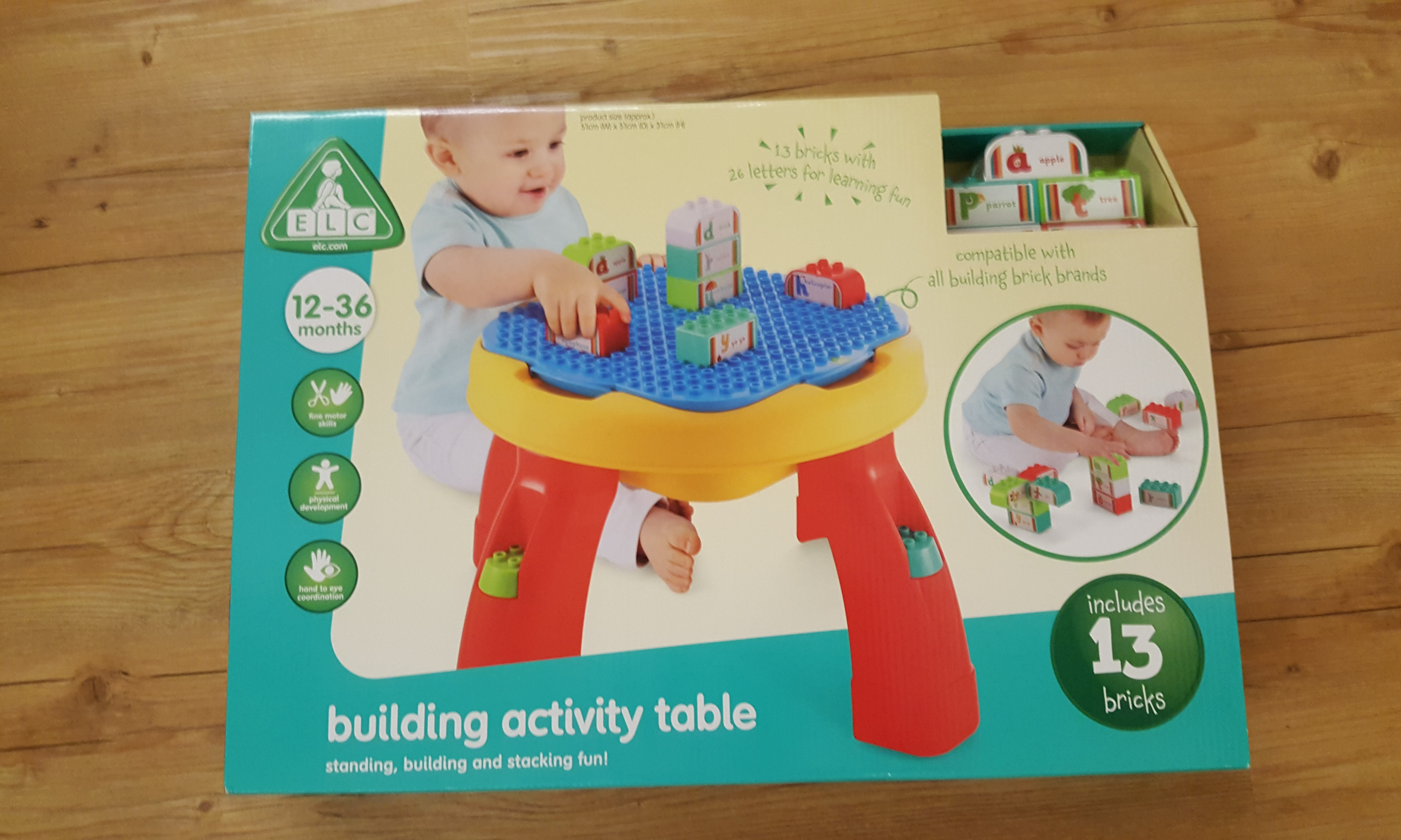 Early Learning Centre Elc Wooden Activity Table Baby Love Light And Sounds 130928 Room Studio Of Activities For Babys Multicoloured Cube Photo