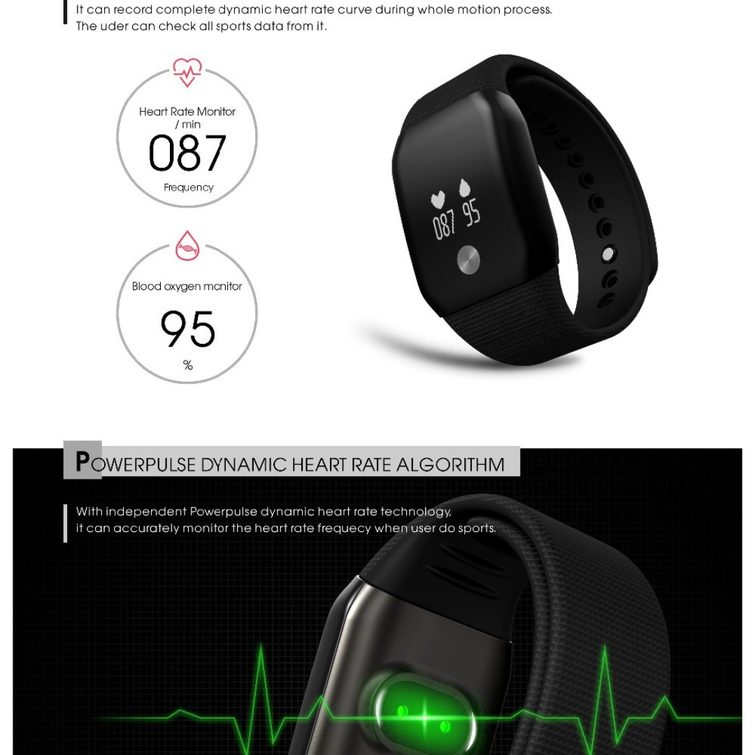 Smart Electronics Exrizu A88 Smart Watch Blood Pressure Oled Touch Screen Waterproof Heart Rate Monitor Smartwatch Health Bracelet For Ios Android Consumer Electronics