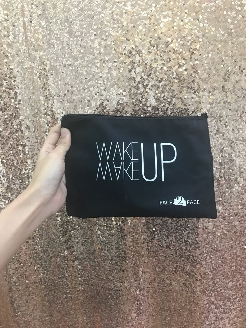 F2F medium makeup pouch
