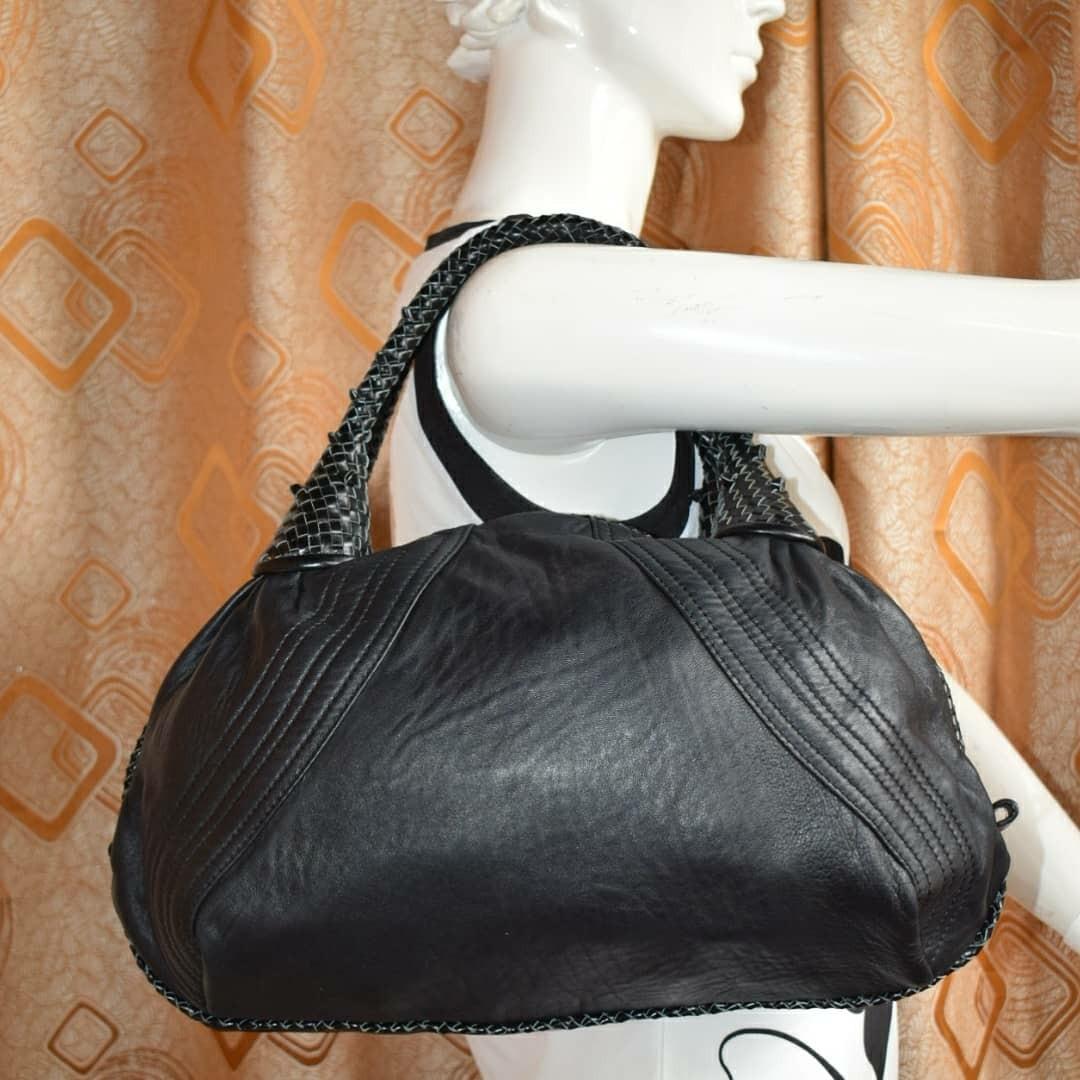 cab9298026f Fendi Black Nappa Leather Spy Bag, Women s Fashion, Bags   Wallets on  Carousell